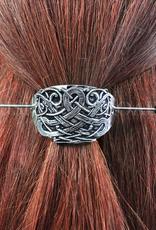 ACCESSORIES MULLINGAR PEWTER CELTIC SHEILD HAIR SLIDE