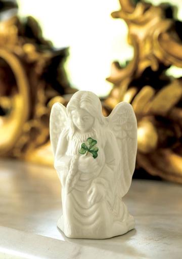 ANGELS BELLEEK ANGEL OF PROTECTION