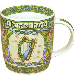 KITCHEN & ACCESSORIES CELTIC WEAVE 'HARP' MUG