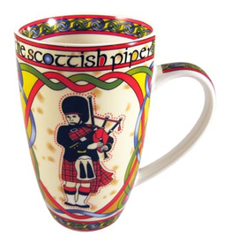 KITCHEN & ACCESSORIES CELTIC WEAVE 'SCOTTISH PIPER' MUG