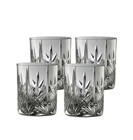 BARWARE GALWAY CRYSTAL ABBEY DOF GLASSES (4)