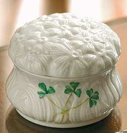 GIFTWARE BELLEEK DAISY TRINKET BOX