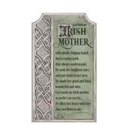 DECOR IRISH MOTHER PLAQUE