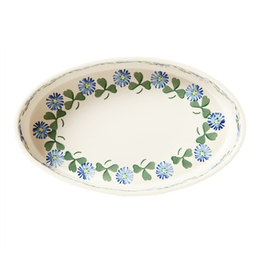 KITCHEN & ACCESSORIES NICHOLAS MOSSE MEDIUM OVAL OVEN DISH - CLOVER