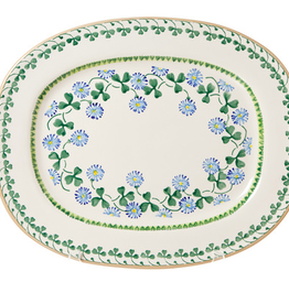 KITCHEN & ACCESSORIES NICHOLAS MOSSE OVAL PLATTER - CLOVER