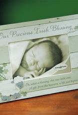 """DECOR """"OUR PRECIOUS IRISH BLESSING"""" BABY FRAME"""