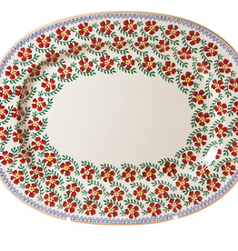 KITCHEN & ACCESSORIES NICHOLAS MOSSE OVAL PLATTER - OLD ROSE