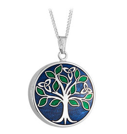 PENDANTS & NECKLACES SOLVAR BOOK of KELLS TREE of LIFE PENDANT