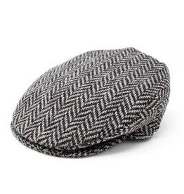 CAPS & HATS VINTAGE WOOL HANNA HAT - Granite Grey Herringbone