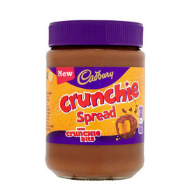 FOODS CADBURY CRUNCHIE CHOCOLATE SPREAD (400g)