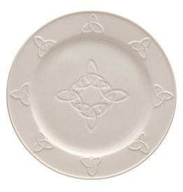 PLATES, TRAYS & DISHES BELLEEK TRINITY KNOT DINNER PLATE