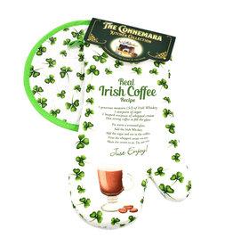 KITCHEN & ACCESSORIES IRISH COFFEE OVEN MITT & POT HOLDER