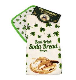 KITCHEN & ACCESSORIES SODA BREAD TEA TOWEL & POT HOLDER