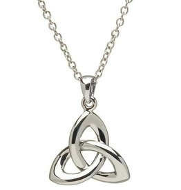 PENDANTS & NECKLACES SHANORE STERLING 3D TRINITY PENDANT - Large