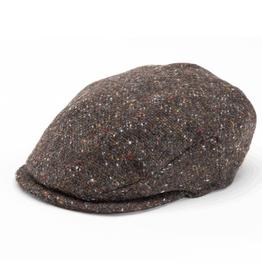 CAPS & HATS VINTAGE WOOL HANNA HAT - S&P Brown