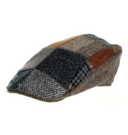 CAPS & HATS DONEGAL TOURING WOOL PATCHWORK HANNA HAT