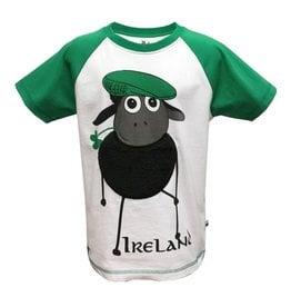 KIDS CLOTHES FARMER SHEEP KIDS RAGLAN T-SHIRT