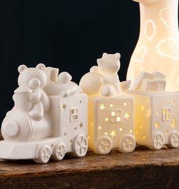 CANDLES & LIGHTING BELLEEK LIVING CHOO CHOO TRAIN LED LIGHT