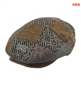 CAPS & HATS KID'S MULTI-TWEED CAP with CELTIC KNOT