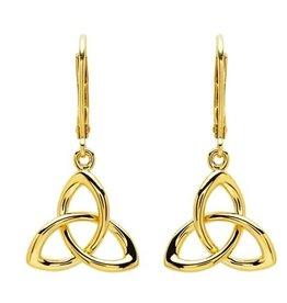 EARRINGS SHANORE 14K GOLD VERMEIL CLASSIC TRINITY DROP EARRINGS