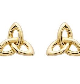 EARRINGS SHANORE 14K GOLD VERMEIL CLASSIC TRINITY STUD EARRINGS