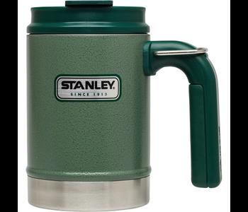 Stanley Classic Vacuum Camp Mug Hammered Green 16oz