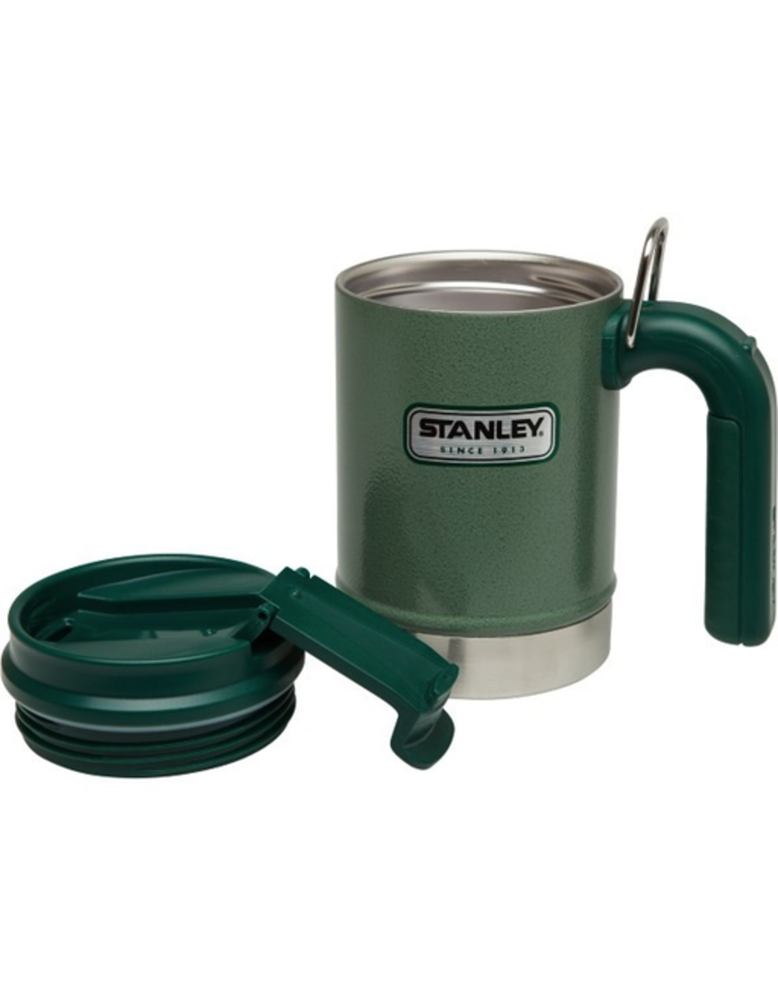 Stanley Stanley Classic Vacuum Camp Mug Hammered Green 16oz