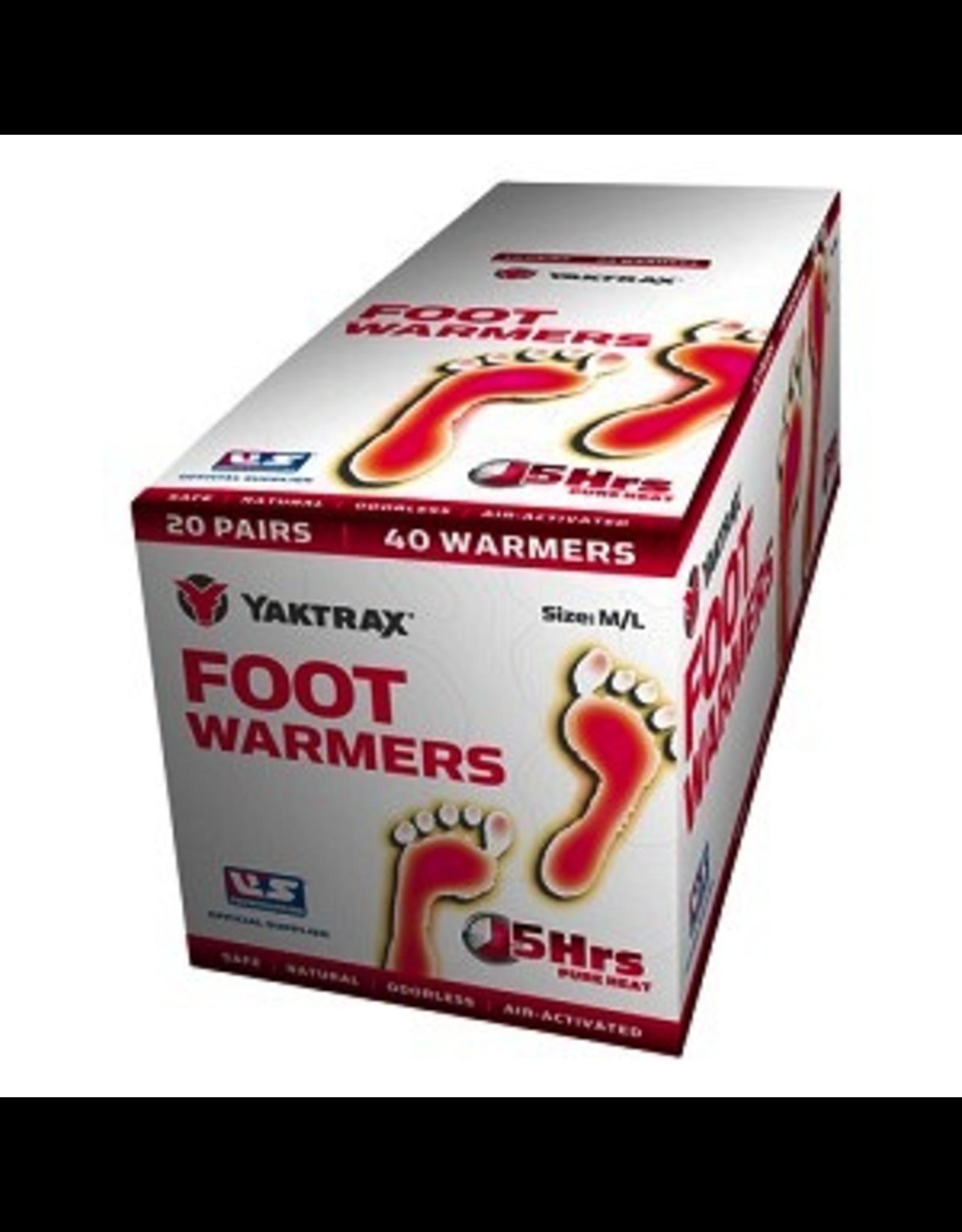 YakTrax YakTrax Foot Warmer Size M/L