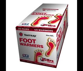 YakTrax Foot Warmer Size M/L