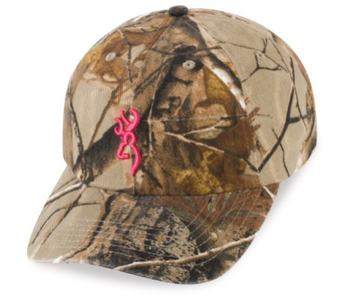 Browning 3D Buckmark For Her Hat
