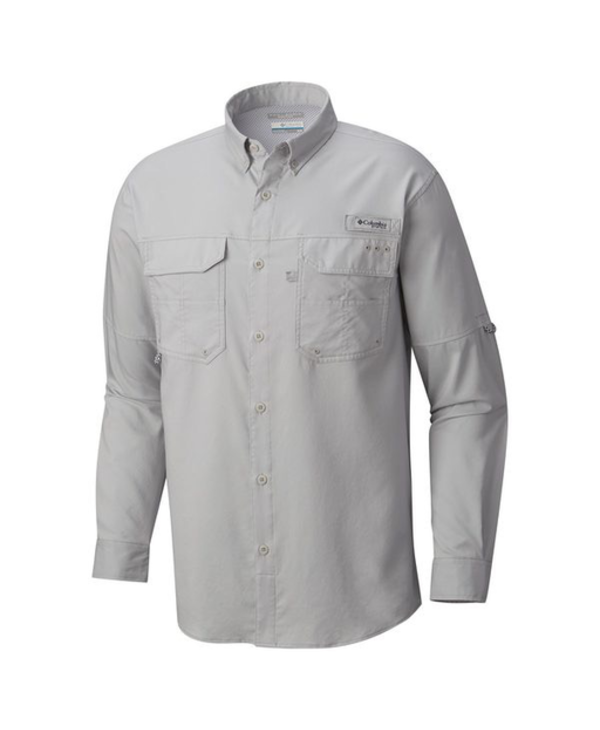 Columbia PFG Men's Blood and Guts III Long Sleeve Woven Shirt