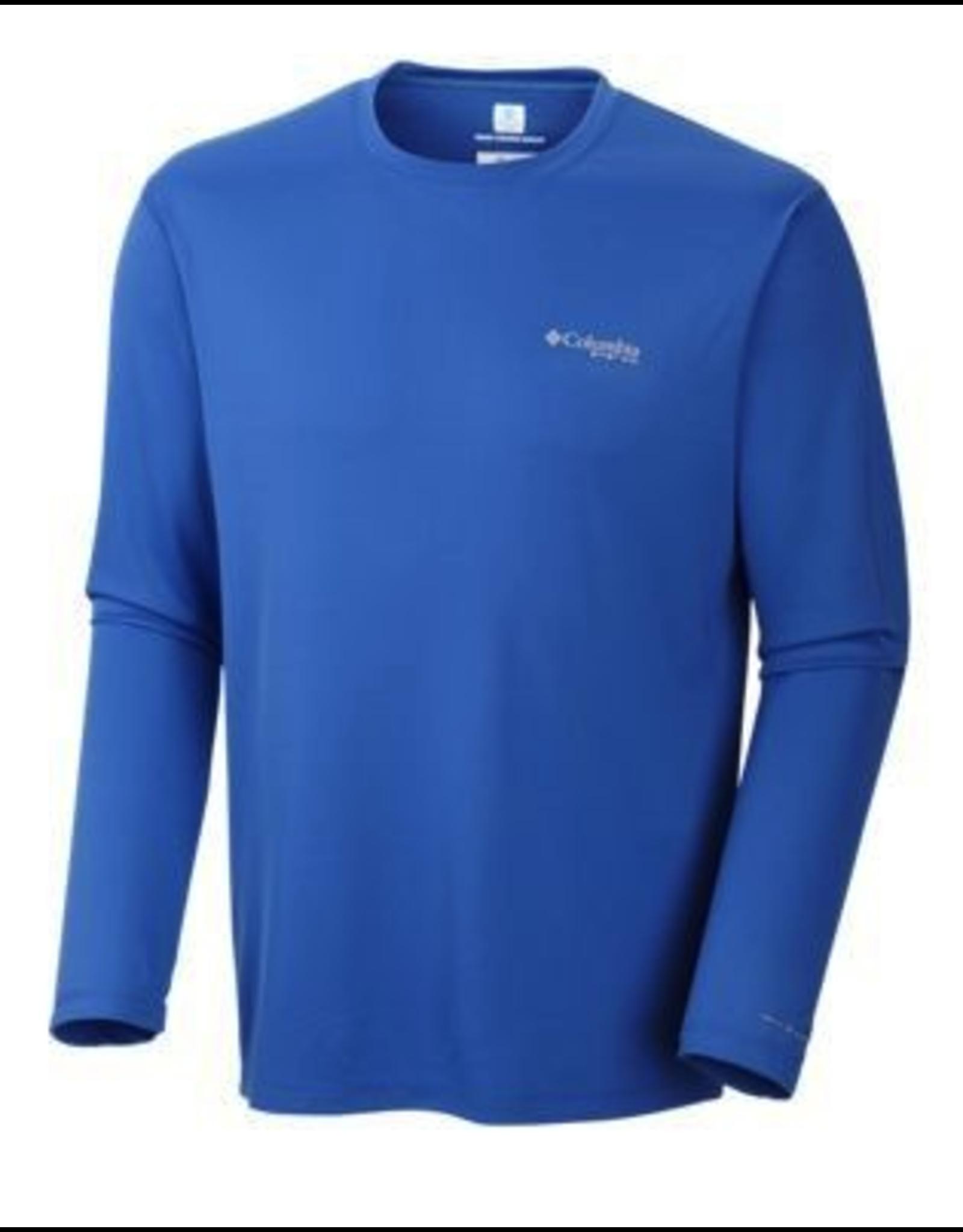 Columbia Columbia Mens PFG Zero Rules Long Sleeve Shirt