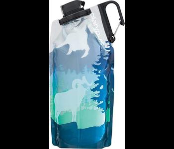 Platypus Duo Lock Soft Bottle 1.0 L - Bighorn Blue