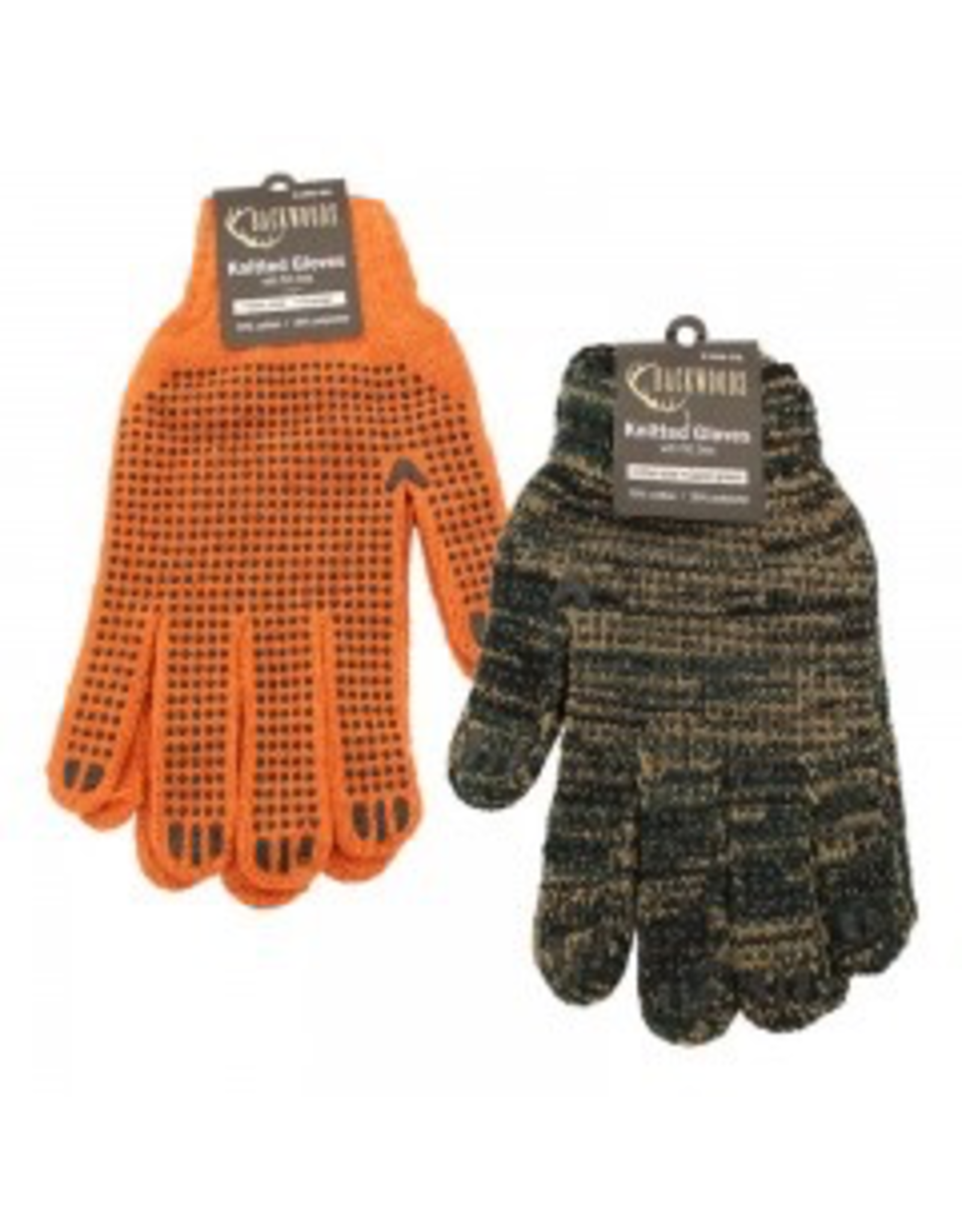 Backwoods Knitted Dotted Gloves - CAMO
