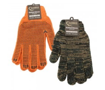 Knitted Dotted Gloves - CAMO