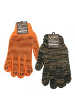 Backwoods Knitted Dotted Gloves - ORANGE