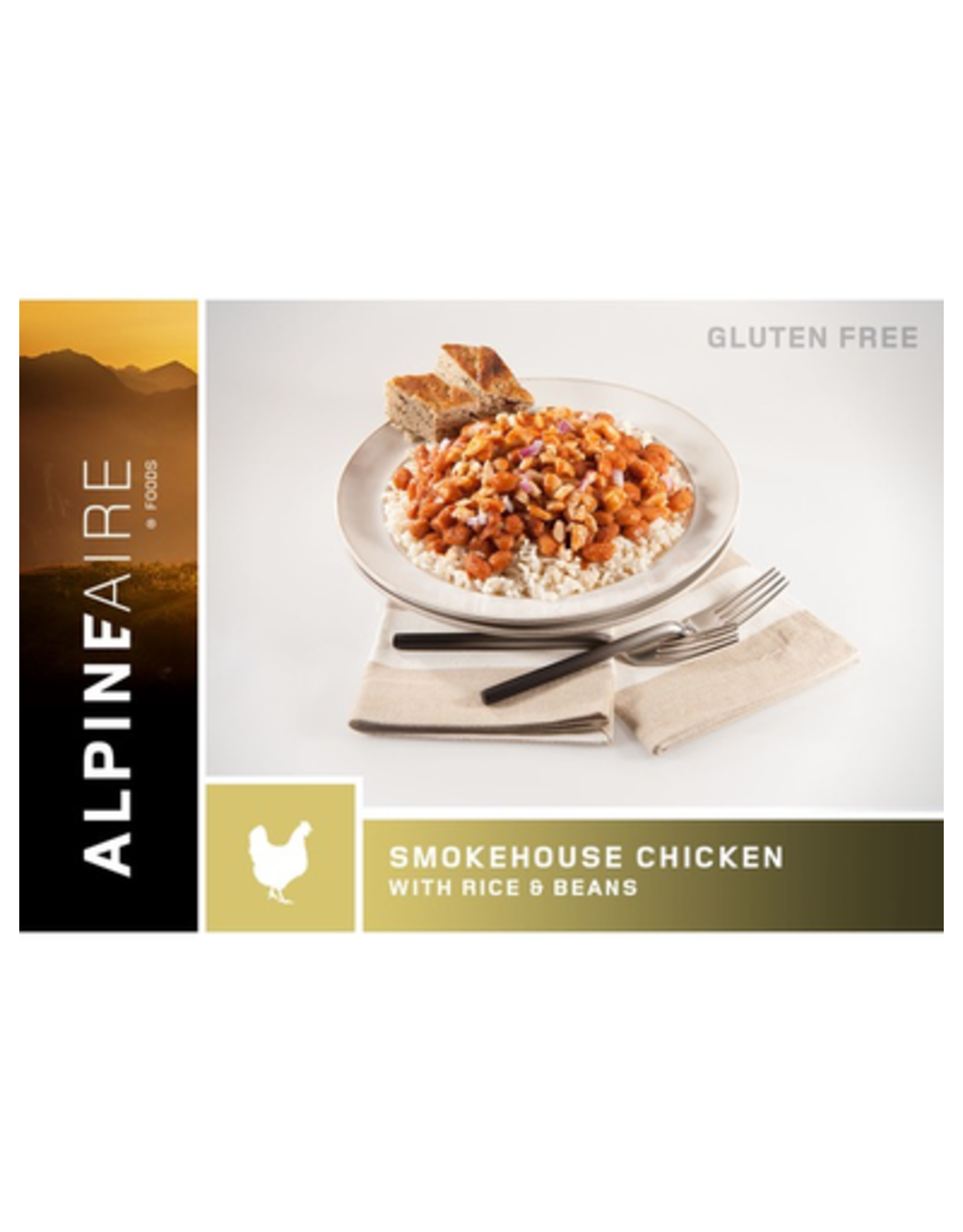 AlpineAire AlpineAire Smokehouse Chicken with Beans and Rice