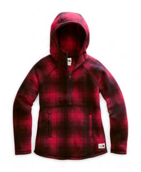 North Face Women's Printed Crescent Hooded Pullover