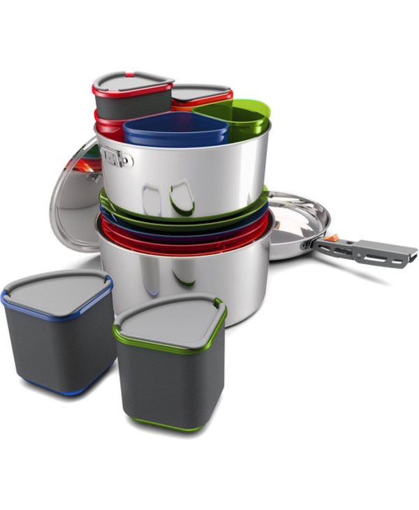 GSI Outdoors Glacier Stainless Camper Set