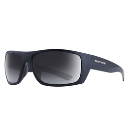 Native Eyewear Native Sunglasses Distiller, Frame Matte Black, Lens N3 Gray
