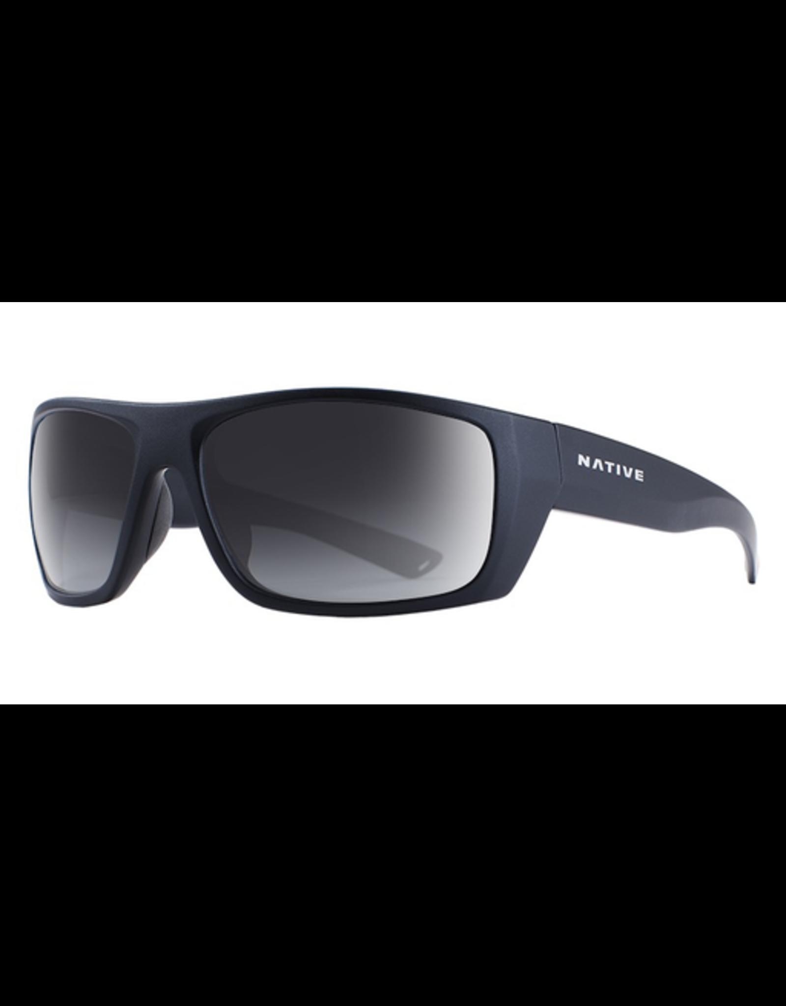 Native Eyewear Native Sunglasses Distiller, Frame Matte Black, Lens N3 Gray