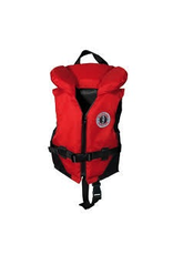 Mustang Survival Mustang Survival Classic Nylon Infant Vest PFD, Red/Black (123), 20 - 30 lbs