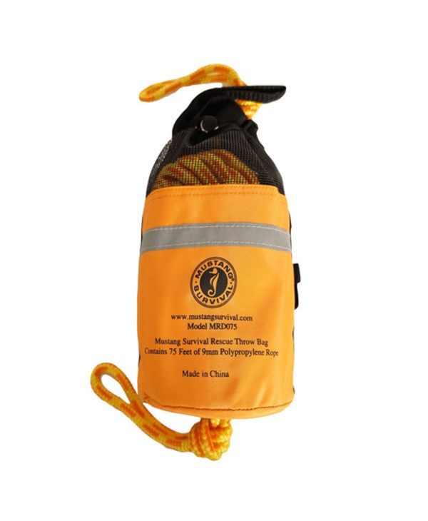 Mustang Survival Throw Bag with 75' Rope