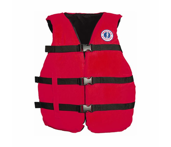 Mustang Survival Universal Fit PFD, Red, Adult
