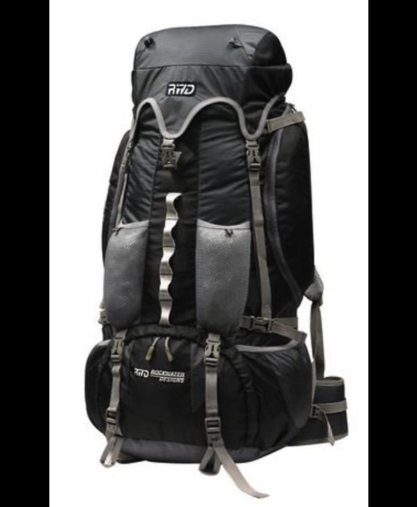 Rockwater Designs Killarney Backpack 85L, Black/Grey