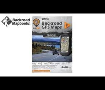 Backroad Mapbooks  ONONSD Ontario GPS  Maps SD