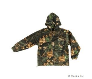 GKS Mens Fleece Hunting Jacket with Hood