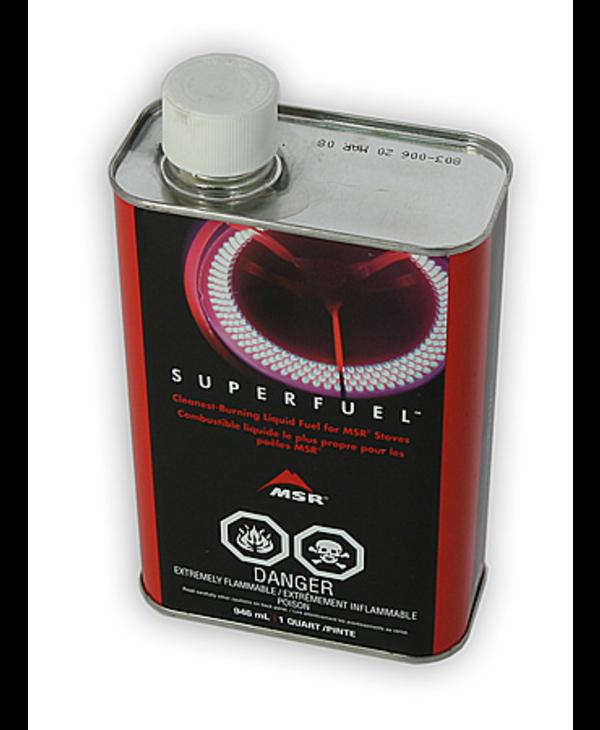 MSR Super Fuel, 1 Qt (US/CAN) Fuel Bottle