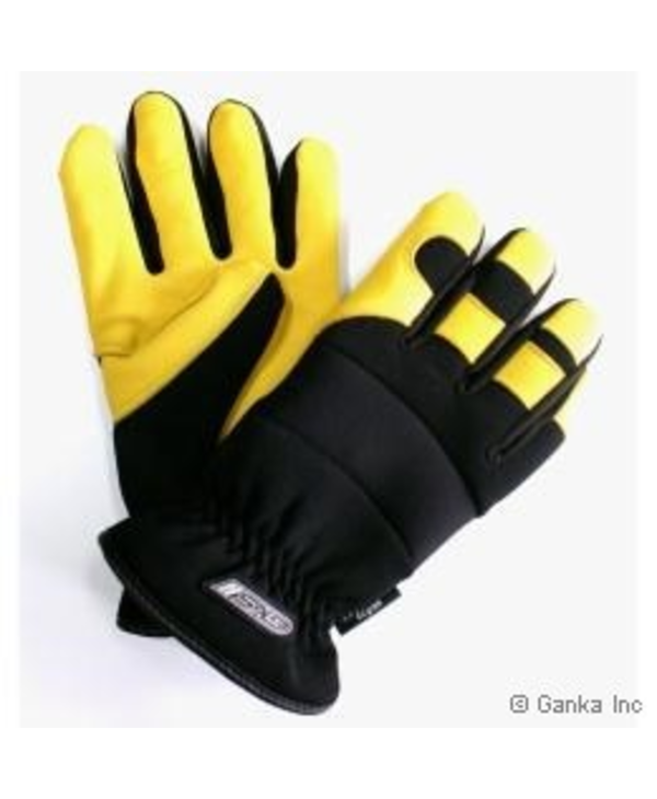 GKS Unisex Deerskin Spandex Flannel Thinsulate Glove