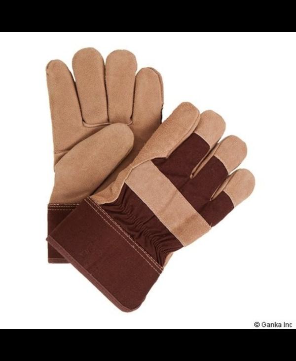 GKS Cowsplit Boa PVC/Solid Rubber Work Glove